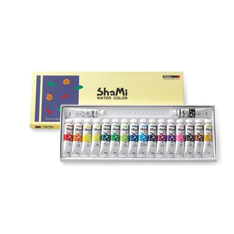 Набор красок акварельных ShinHanart SHAMI WATER COLOR, 10 мл, 12 цветов