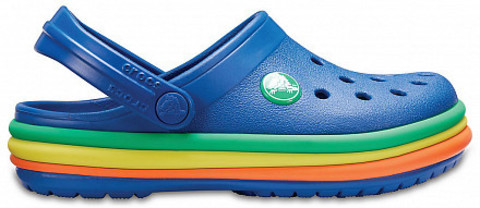 Сабо Rainbow Band Clog K (Крокбэнд)  Crocs