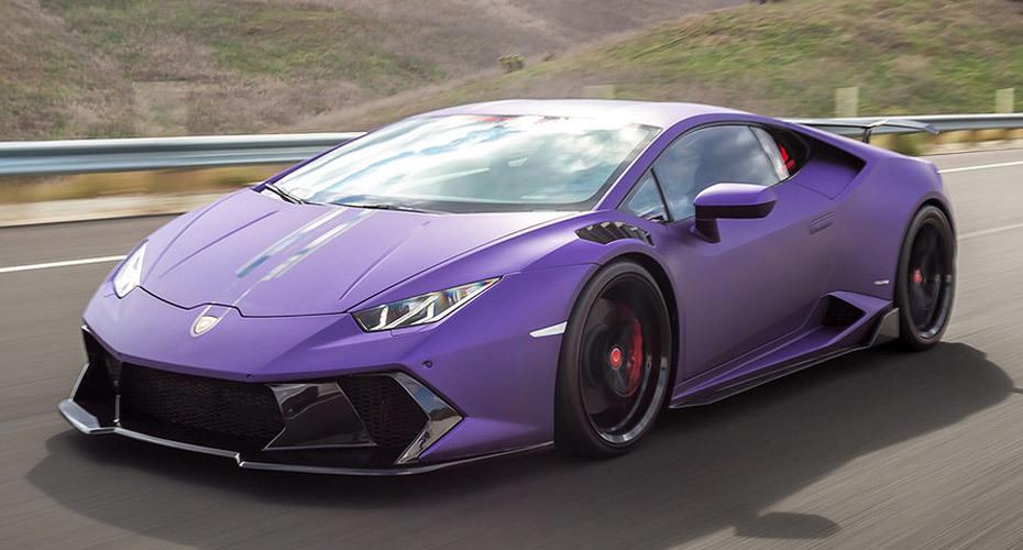 Обвес Vorsteiner Novara для Lamborghini Huracan
