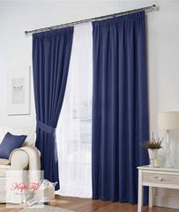 Комплект штор Тоскана (синий)