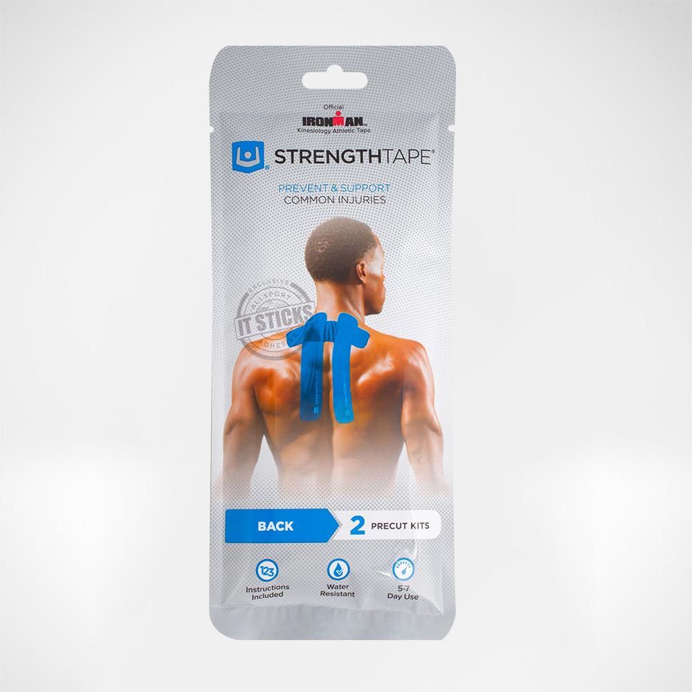 Комплект кинезио-тейпов для спины