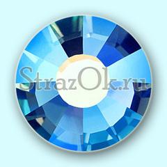 Купите стразы клеевые холодной фиксации Capri Blue AB Капри Блю АБ синие