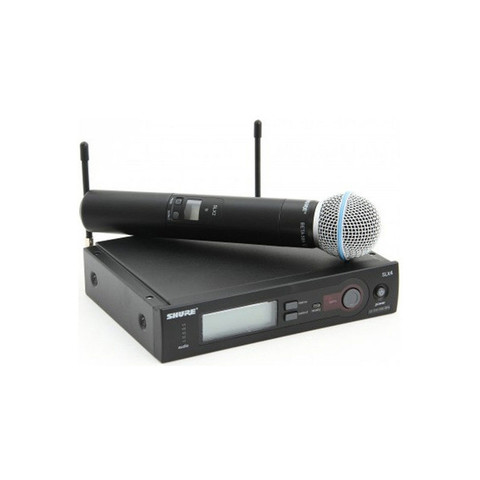 SHURE SLX24E/B58 вокальная радиосистема