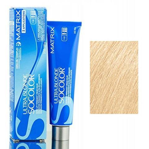 Matrix socolor beauty крем краска для волос экстра блонд,  UL-N натуральный