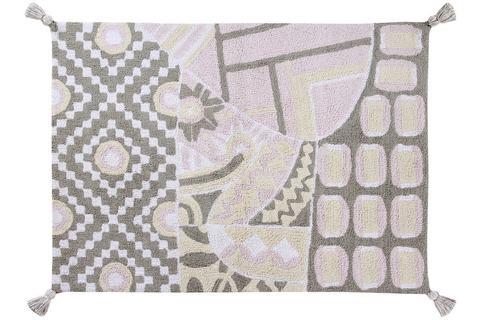 Ковер Lorena Canals Indian Bag Grey/Pink (120 х 160)