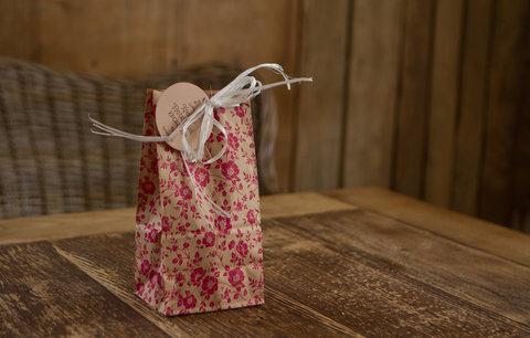 Пакет Подарочный 19х10х7