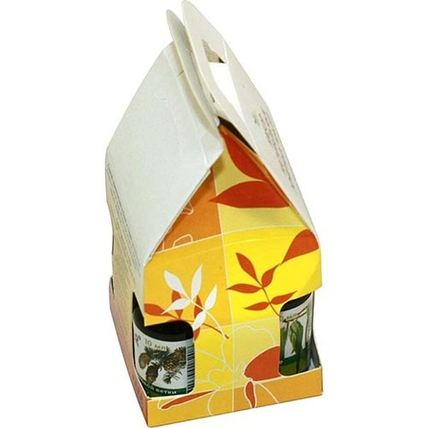 Набор масел 4*10 (апельсин, кедр, пихта, эвкалипт)