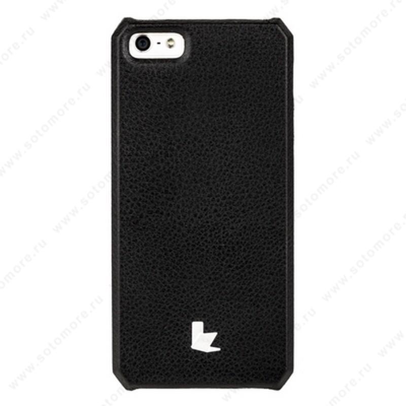 Накладка Jisoncase для iPhone SE/ 5s/ 5C/ 5 цвет черный JS-IP5-01H