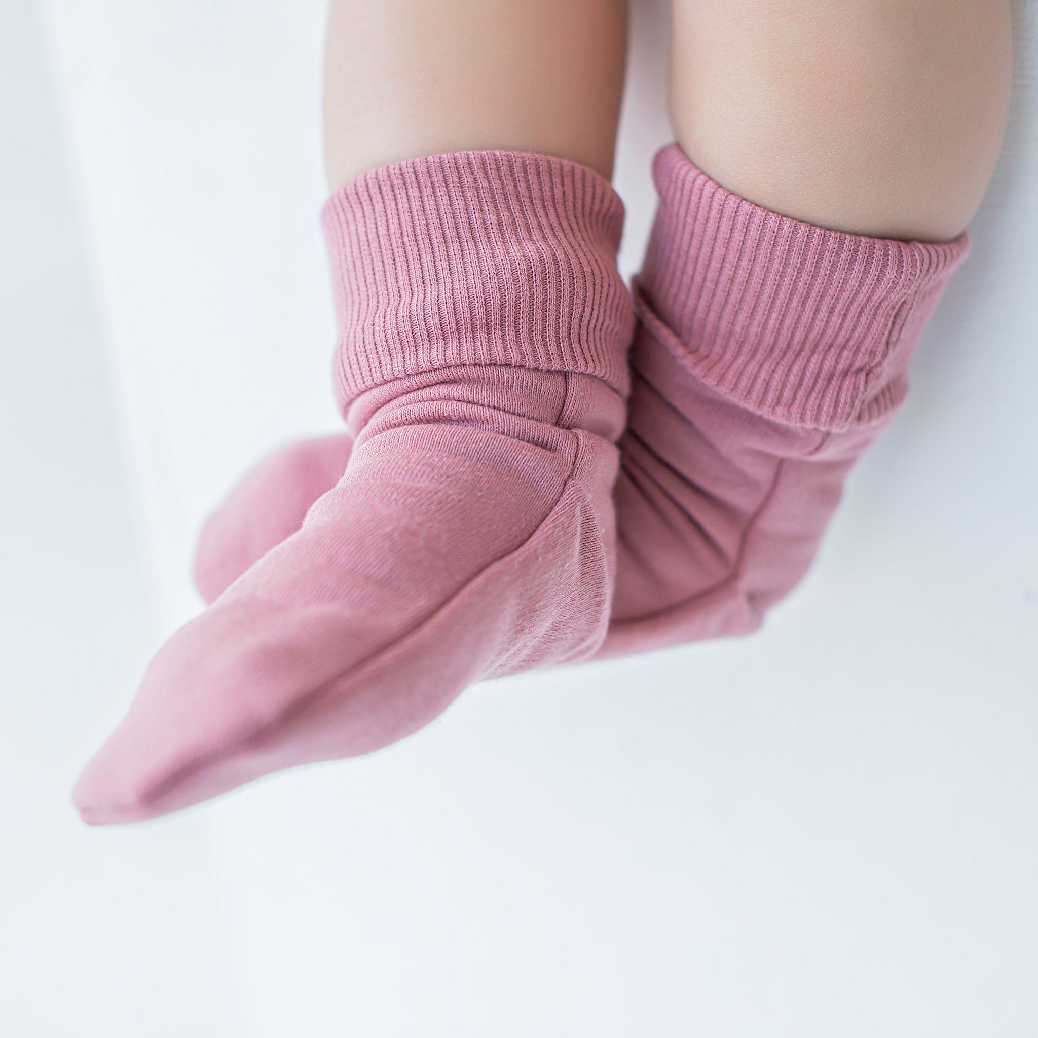 Носочки с начесом