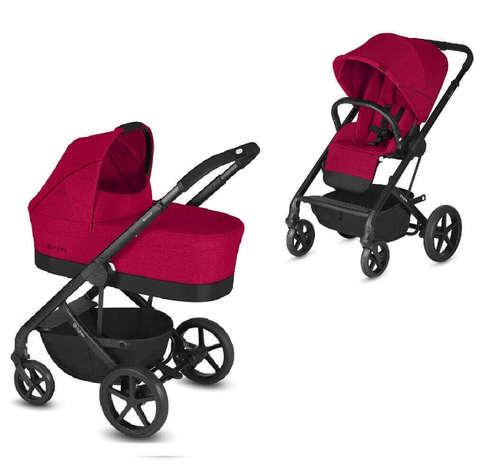 Детская коляска Cybex Balios S 2 в 1 Rebel Red