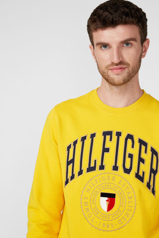 Мужской желтый свитшот VARSITY Tommy Hilfiger