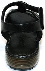 Босоножки женские кожа Evromoda 15 Black.