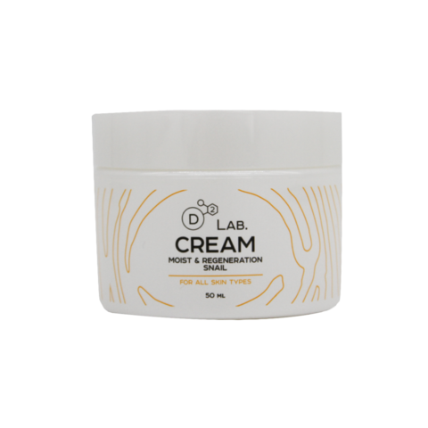 Крем для лица c муцином улитки CREAM MOIST & REGENERATION SNAIL, 50 мл.