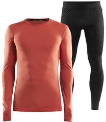 Комплект термобелья Craft Fuseknit Comfort Red-Black мужской