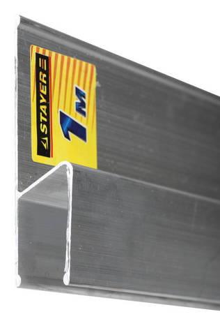 Правило для финишной отделки FINISH, 1 м, STAYER Professional 10745-1.0