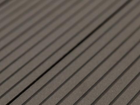 Террасная доска SW Carpinus цвет темно-коричневый