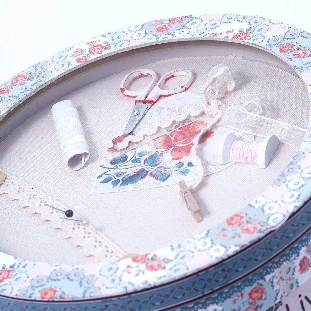 Шкатулка для швейных пренадлежностей