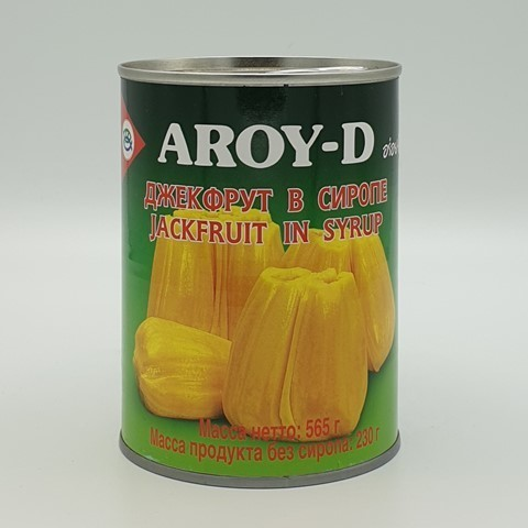 Джекфрут в сиропе AROY-D, 565 гр