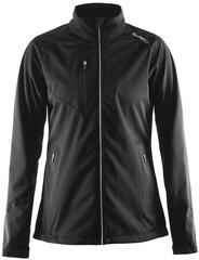 Элитная лыжная куртка Craft Bormio Softshell Black женская