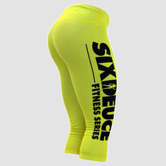 Женские капри SD 3/4 FITNESS YELLOW