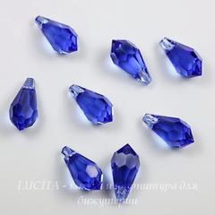 6000 Подвеска Сваровски Drop Sapphire (11х5,5 мм)