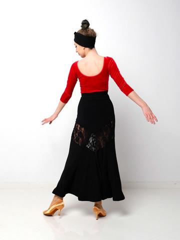 Боди для танцев из бархата