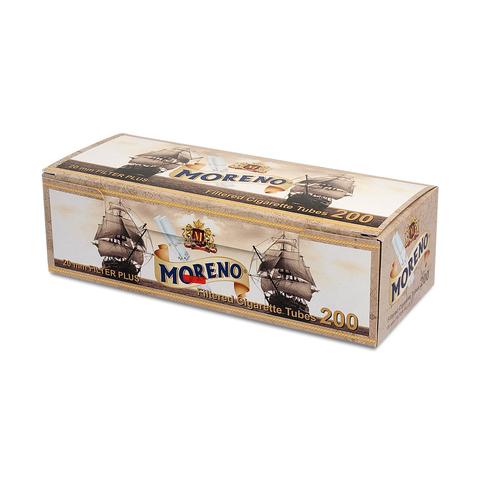 Гильзы для набивки сигарет Tubes MORENO Long 200