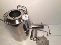 Самогонный аппарат «Премиум», с термометром и расширенной горловиной, фото 8