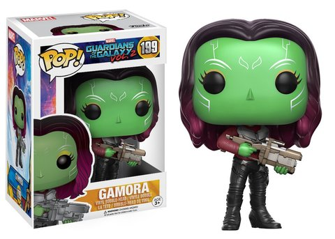 Фигурка Funko POP! Bobble: Marvel: Guardians O/T Galaxy 2: Gamora 12789