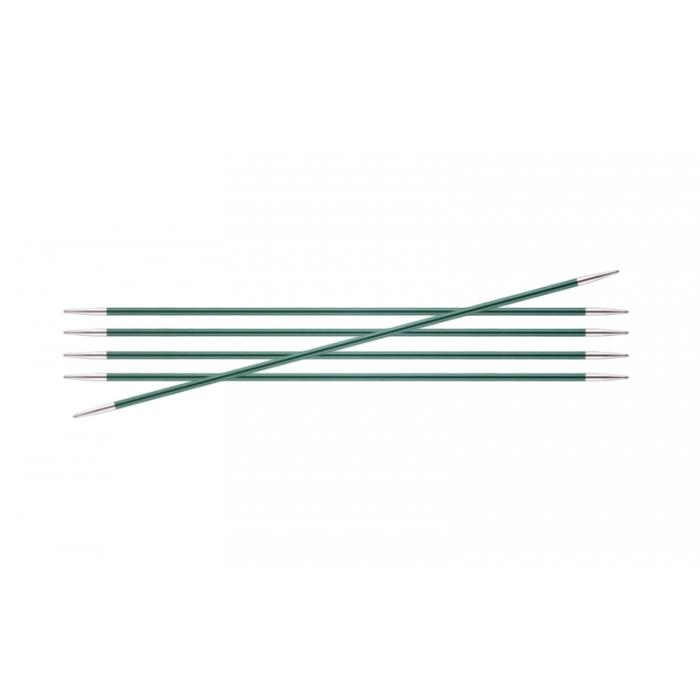 Спицы KnitPro Zing чулочные 3,0 мм/20 см 47035