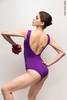 Купальник Треугольник colour | фиолетовый