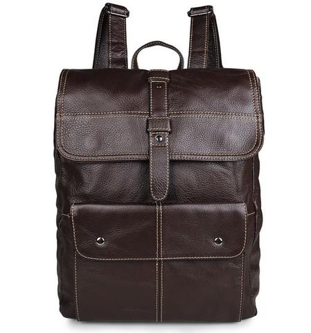 Кожаный рюкзак JMD 7335R