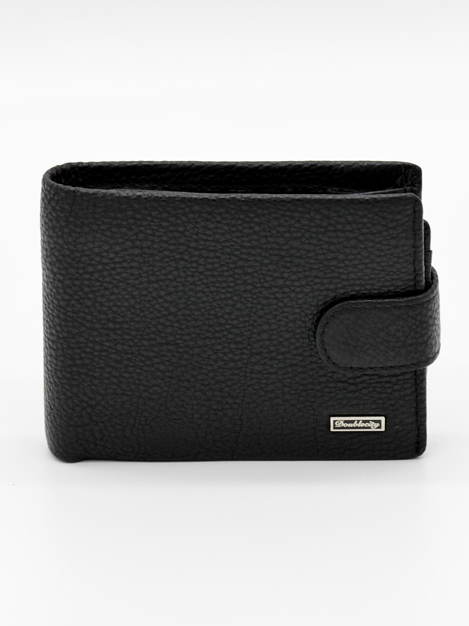 Компактное портмоне из натуральной кожи с RFID-зажитой Dublecity 130-DC31-04A