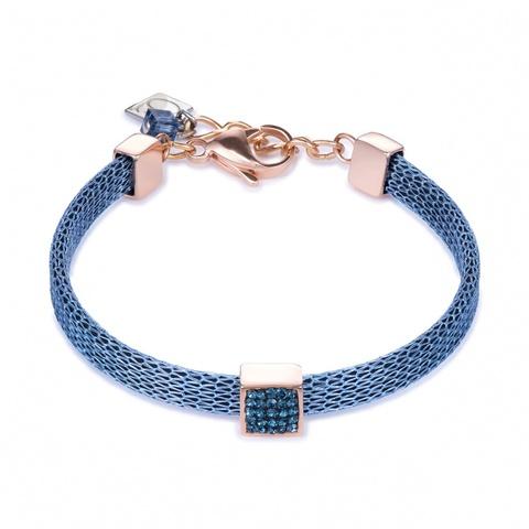 Браслет Coeur de Lion 0217/30-0735 цвет синий