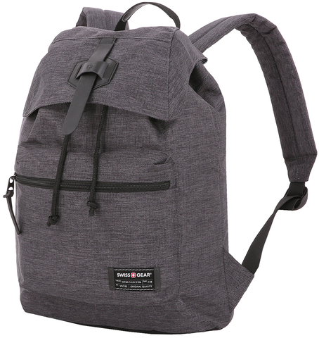 Рюкзак SWISSGEAR 13'', cерый, ткань Grey Heather/ полиэстер 600D PU , 29х13х40 см, 15 л