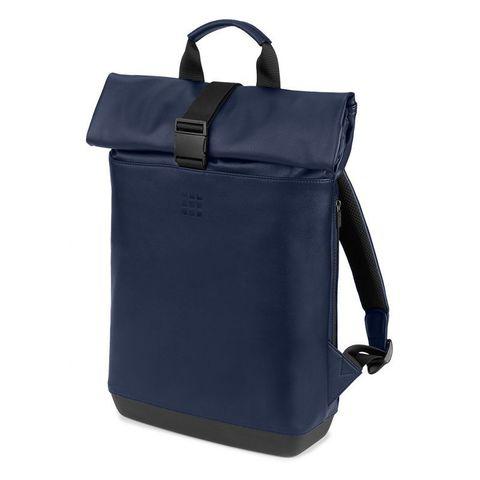 Рюкзак Moleskine Rolltop Classic синий сапфир ET86RBKB20 36x48x11см 18л. 1.5кг.