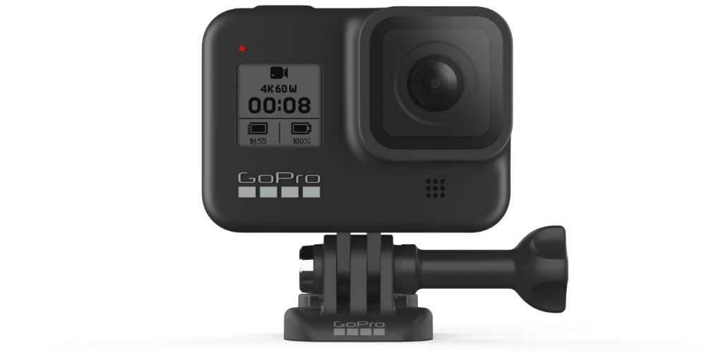 Видеокамера GoPro HERO8 Black Edition + SD Card (CHDSB-801) на платформе