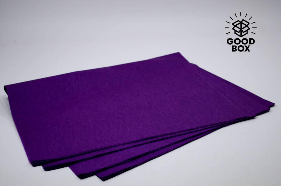 Тишью фиолетовый цвет