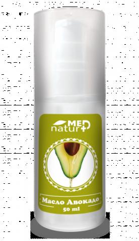 Масло Авокадо 50мл раф. натуральное НИИ Натуротерапии ТМ Натурмед