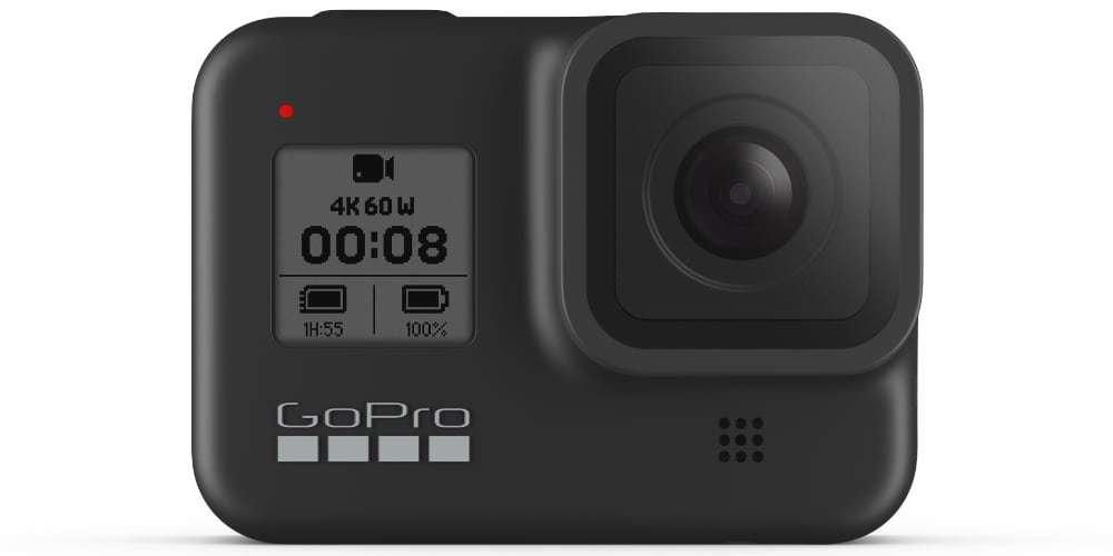 Видеокамера GoPro HERO8 Black Edition + SD Card (CHDSB-801) спереди