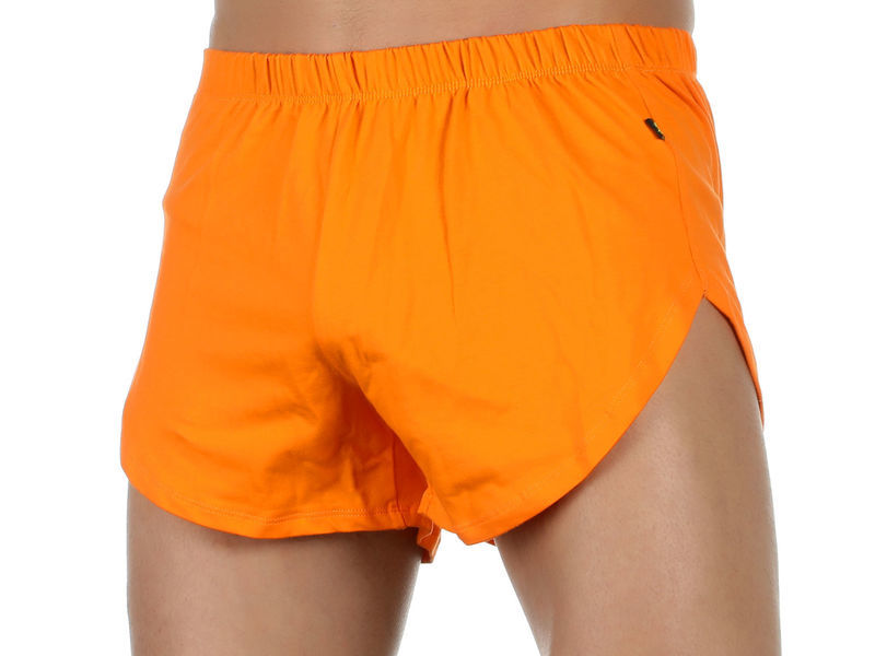 Мужские шорты оранжевые Van Baam VB-39246
