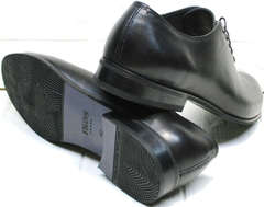Классические черные туфли оксфорд мужские Ikoc 063-1 ClassicBlack.