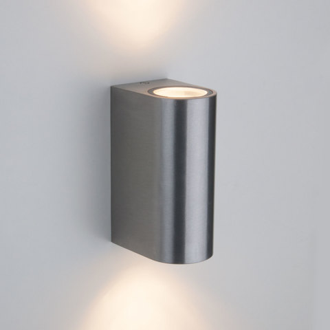 Pillar хром уличный настенный светильник 1703 TECHNO