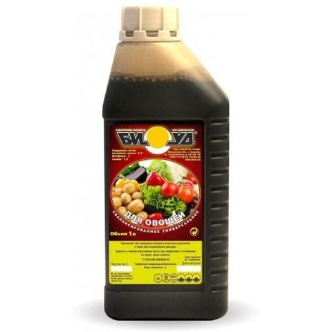 Жидкое удобрение БИУД  КОН Овощной универсальный 1л