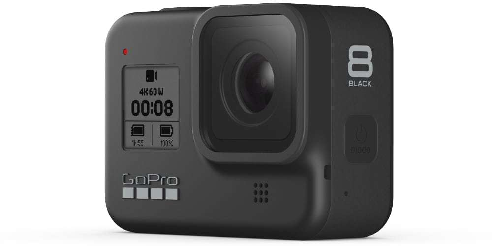 Видеокамера GoPro HERO8 Black Edition + SD Card (CHDSB-801)