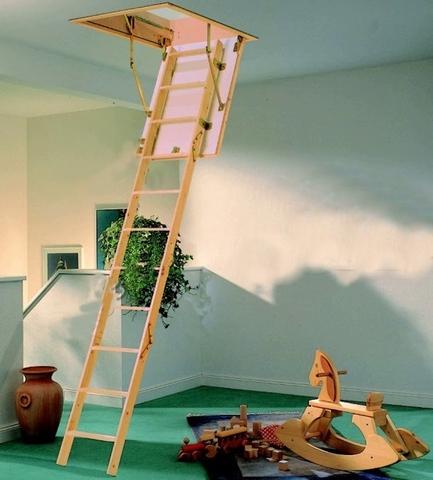 пример Чердачная лестница D-Step Standart 60