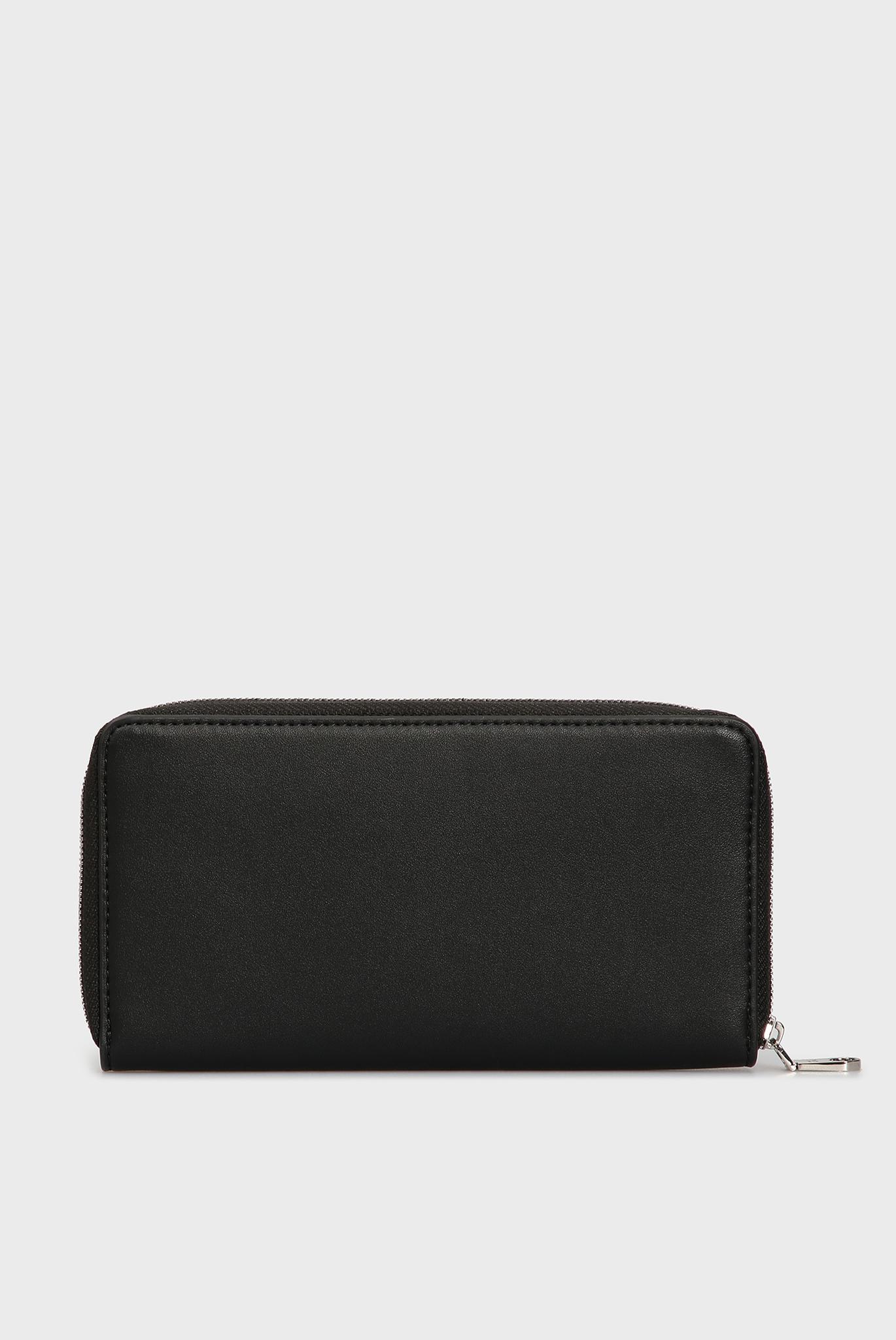 Женский черный кошелек Calvin Klein