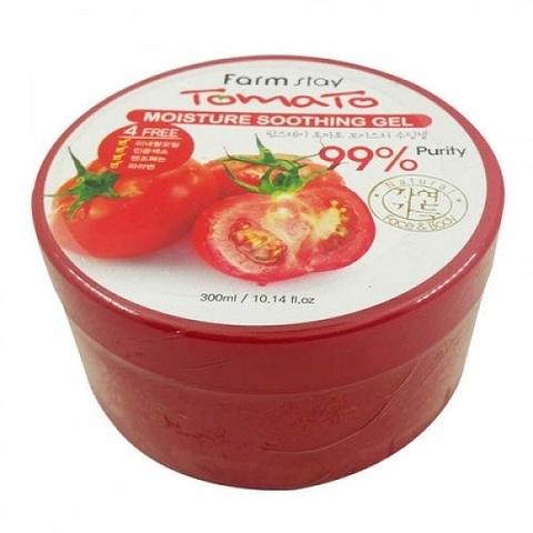 Гель многофункциональный увлажняющий успокаивающий с томатом FarmStay Moisture Soothing Gel Tomato 300мл