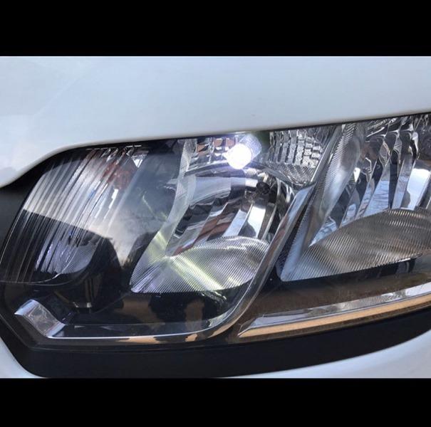 Автолампы светодиодные в дневные ходовые огни аналог