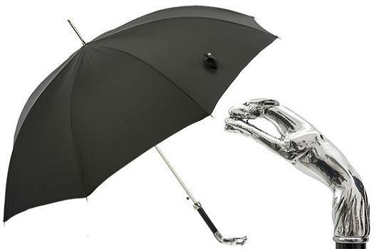Зонт-трость Pasotti Silver Greyhound, Италия (арт.478 50890-5 W10).